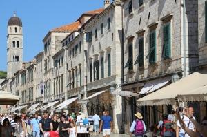 Einkaufsstraße Dubrovnik