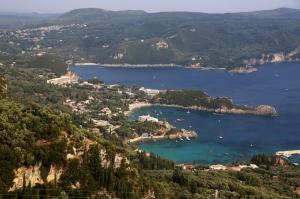 Blick auf Korfu