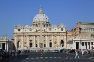 Petersdom Rom Sommer 2013
