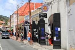 Mainstreet auf St. Thomas