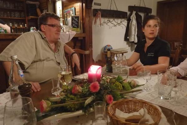 Blogger trifft Küche - Natalie Ball und Heinrich Wullhorst (Foto: Wukomm/CW).