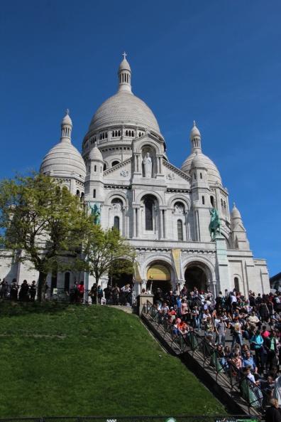 Sacré-Cœur Basilika auf dem Montmartre.
