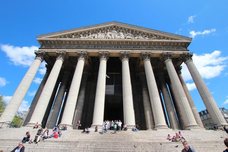 Pfarrkirche Le Madeleine in Paris.