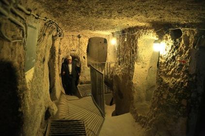Höhlenbauten von Kaymaklı (Foto: wukomm).