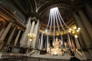 Pfarrkirche Madeleine in Paris.