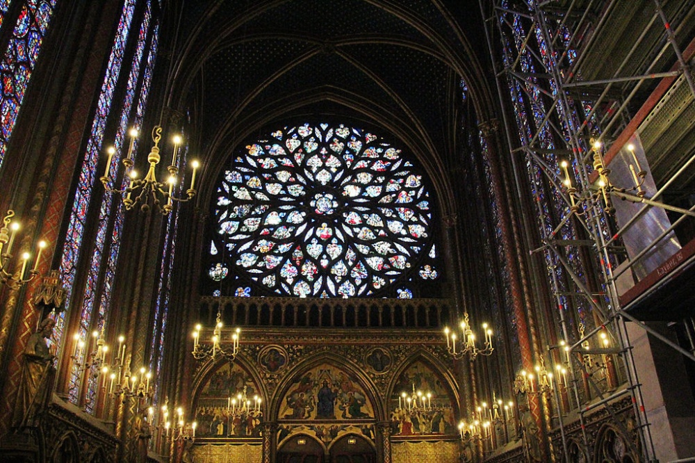 Oberkirche der Sainte Chapelle.