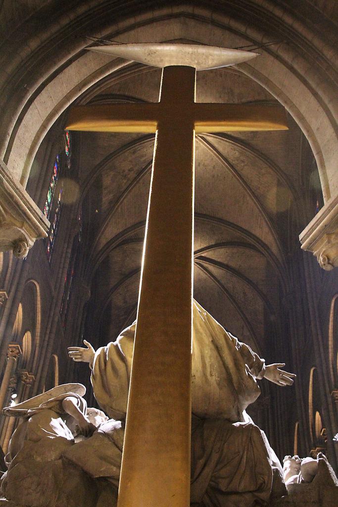 Kathedrale von Notre Dame de Paris.