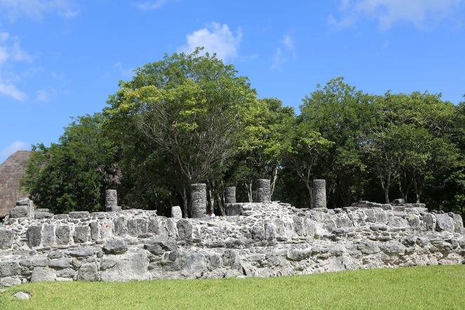 Antike Stätten von San Gervaiso auf Cozumel, Tempel der Ixchel.