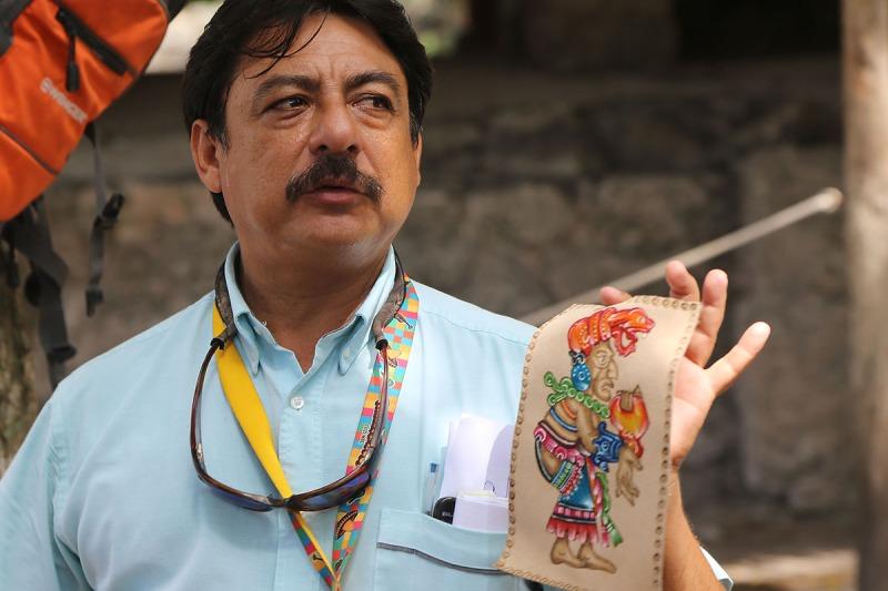 So stellten sich die Mayas ihre Göttin Ixchel vor.