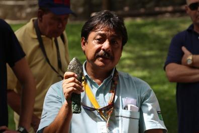 Mit diesem Werkzeug arbeiteten die Maya.