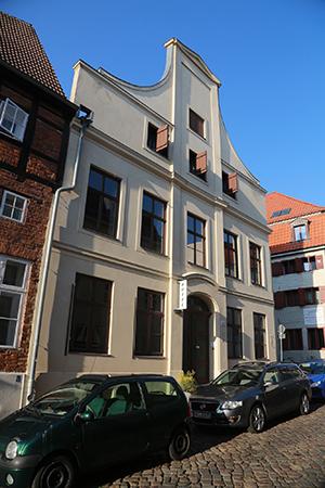 Ein architektonisch interessantes Gebäude beherbergt das Hotel