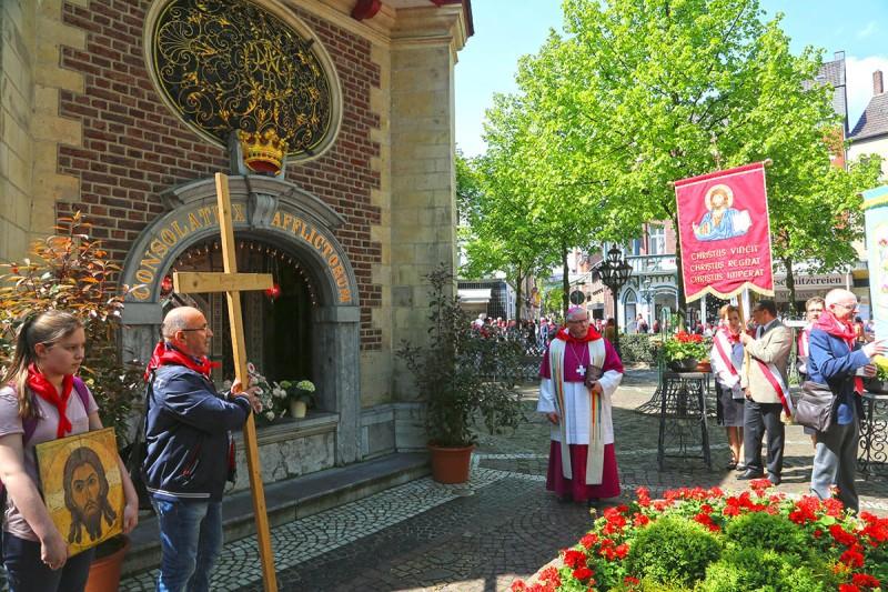 Gnadenkapelle im niederrheinischen Kevelaer.