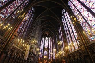 Die Sainte Chapelle im Justizpalast ist mehr als sehenswert.