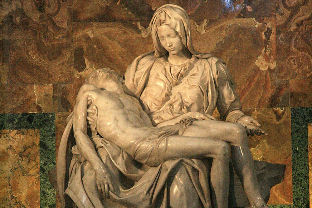Pieta im Petersdom, Rom.