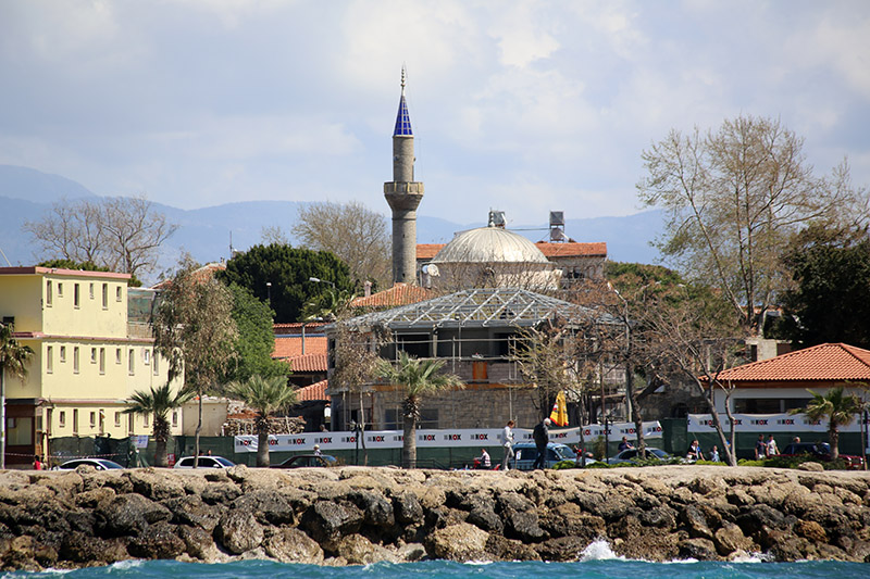 Moschee in der Altstadt von Side.