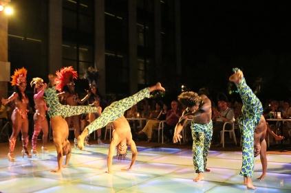 Samba Show im Sensimar Side.