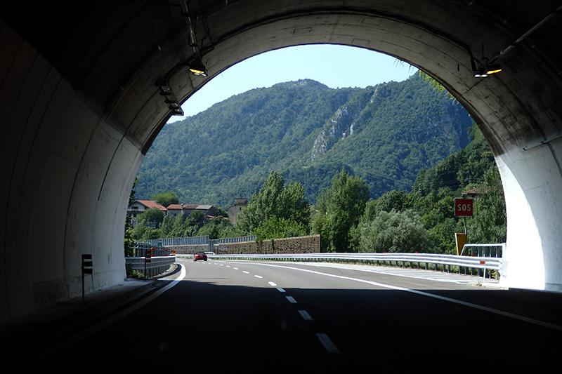 Licht am Ende des Tunnels. Foto: Claudia Wullhorst