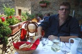 """Restaurant """"La Griglia"""" in San Gimignano."""