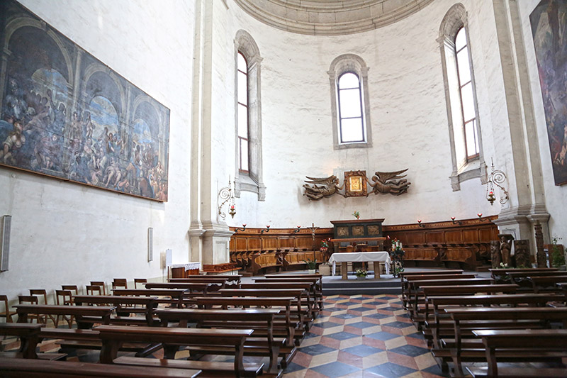 Grab des Evangelisten Lukas in der Giustina-Basilika in Padua.