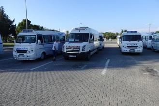 Am zentralen Busbahnhof in Side. (Foto: wukomm)