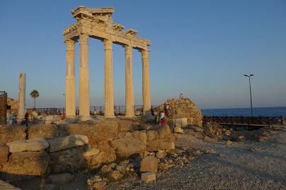 Akropolis in Side. (Foto: wukomm)