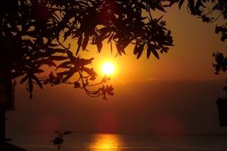 Sonnenuntergang. (Foto: wukomm)