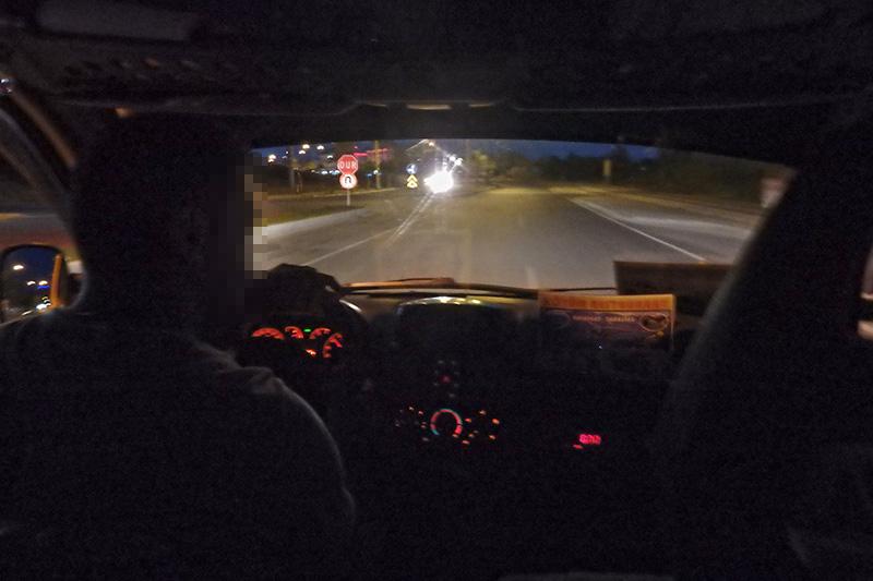 Taxifahrt in Side. (Foto: wukomm)