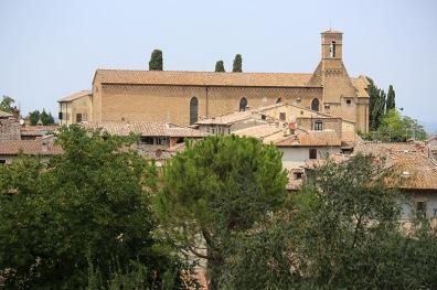 San Agostino San Gimignano.
