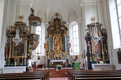 Pfarrkirche Saalbach.