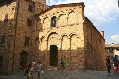 San Bartolo in San Gimignano.