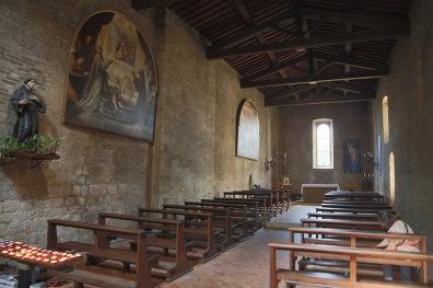 Innenraum San Bartolo San Gimignano.
