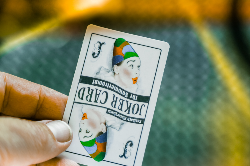 Must-have: Joker card!
