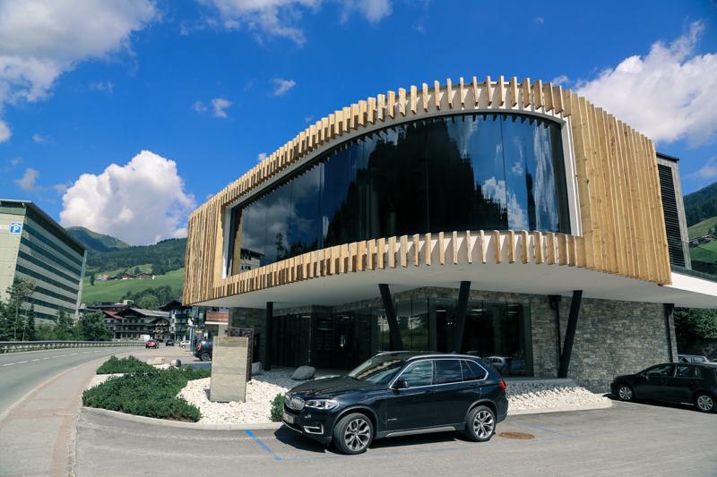Gut untergebracht: der Tourismusverein Saalbach Hinterglemm.