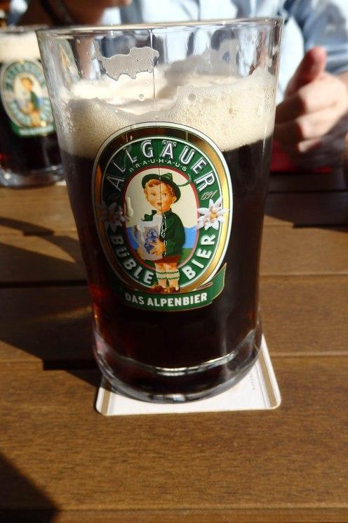 Ein gepflegtes Bier.