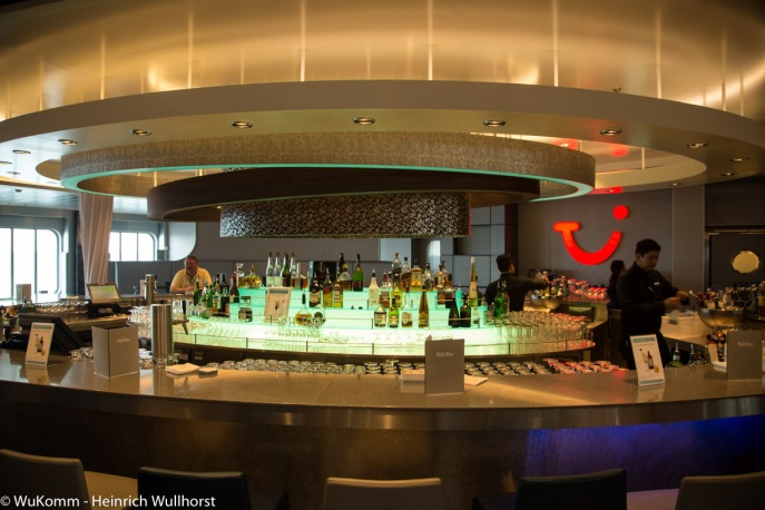 auch im Innenraum wunderbare Bars