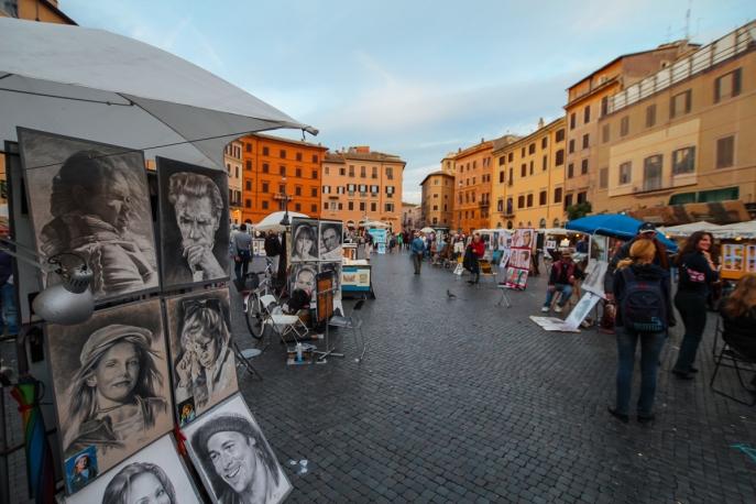 Piazza Navona (Foto: wukomm)