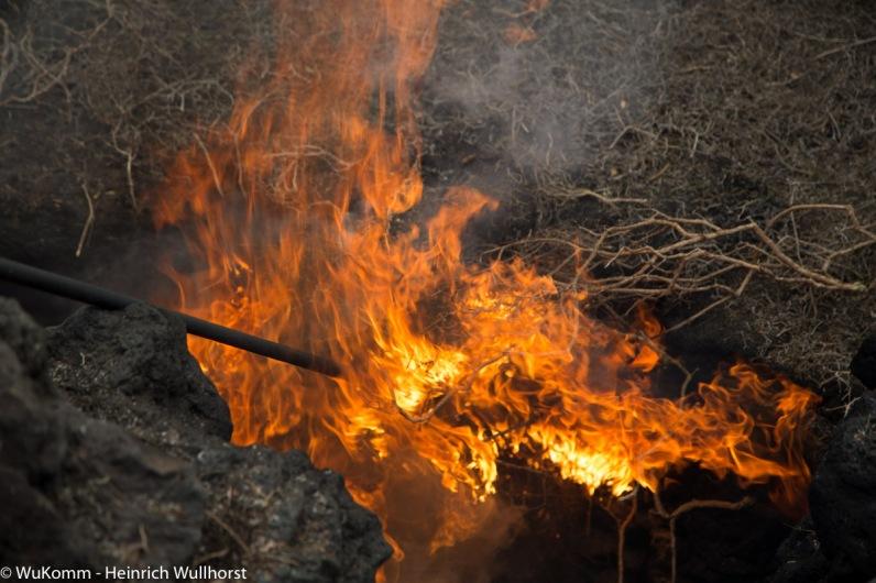 Das Feuerexperiment.