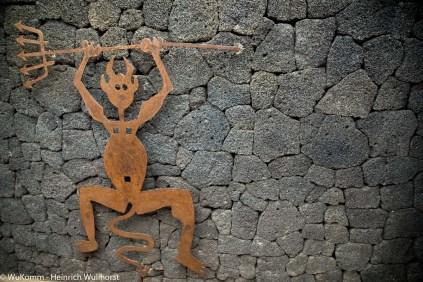 Der Teufel, das Symbol von Timanfaya.