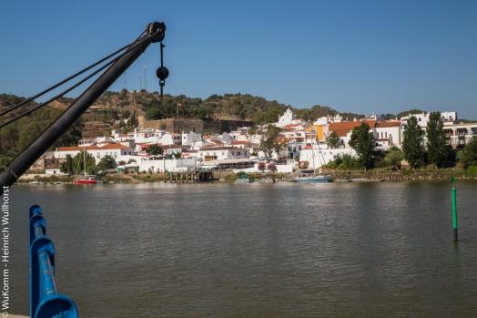 Blick von Spanien nach Portugal
