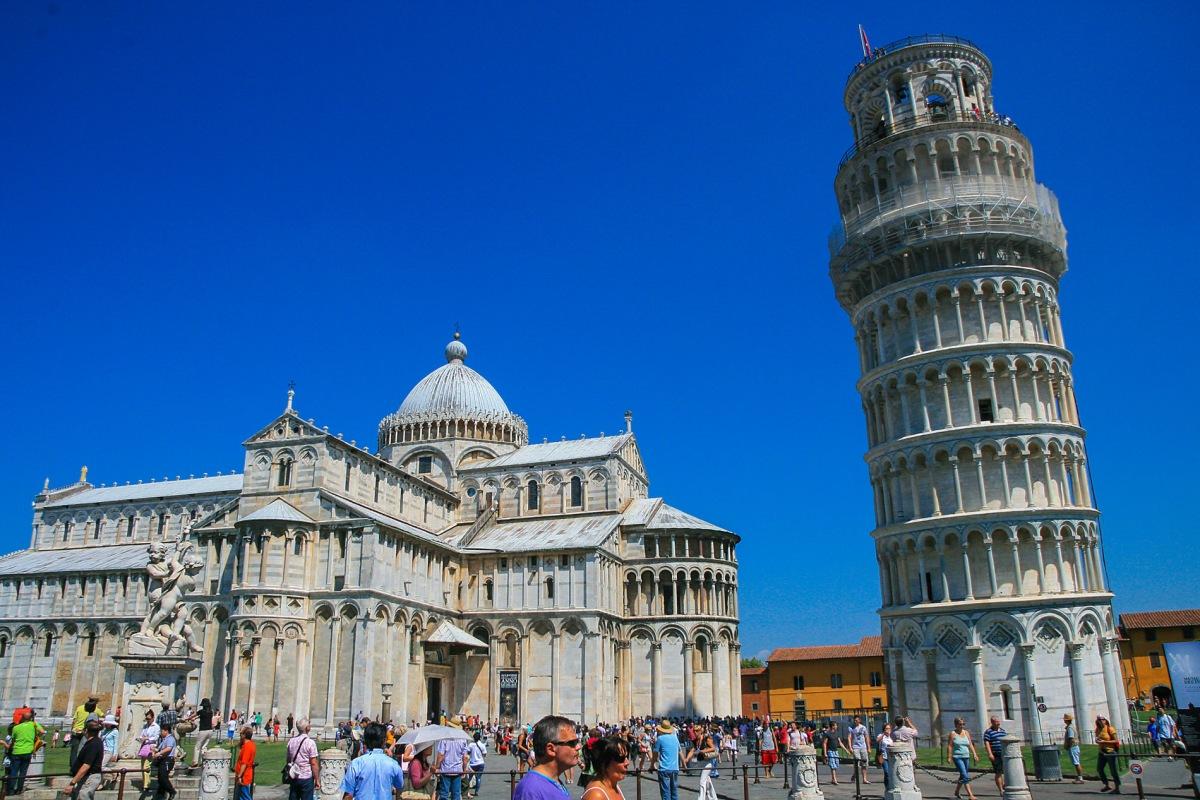 Pisa und der Turm